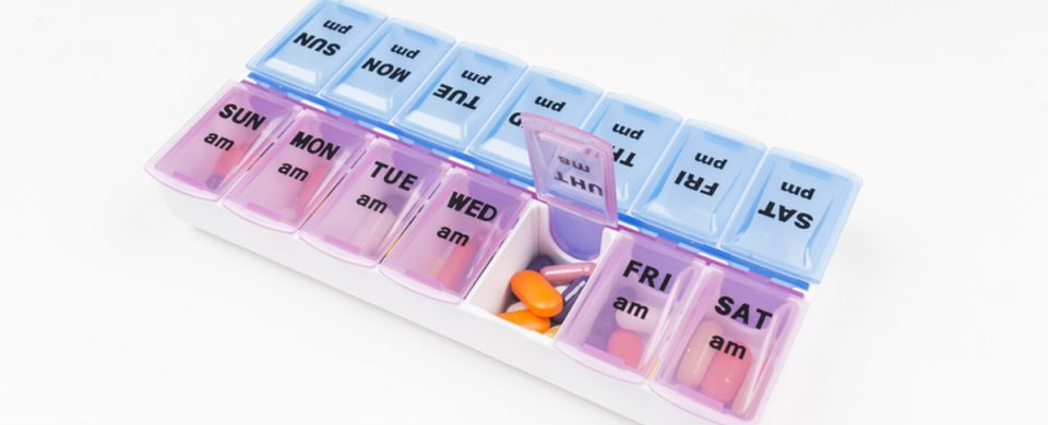 Home Health Care in Coronado CA: Pill Organizers