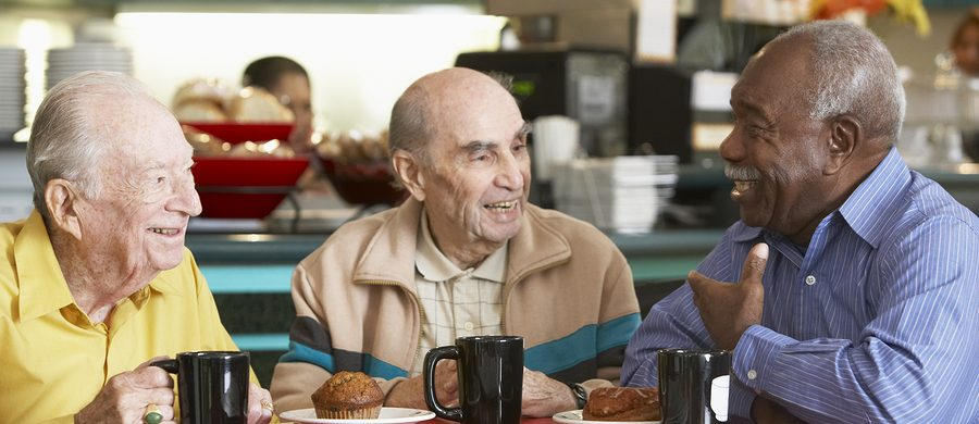 Caregiver in Coronado CA: Senior Restaurant Healthy Eating